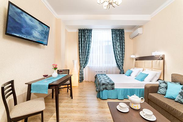 Гостиница Светлана,Студия 2-местная  1-комнатная