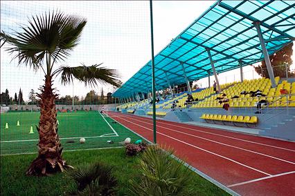Пансионат Парус,Футбольное поле с искусственным покрытием