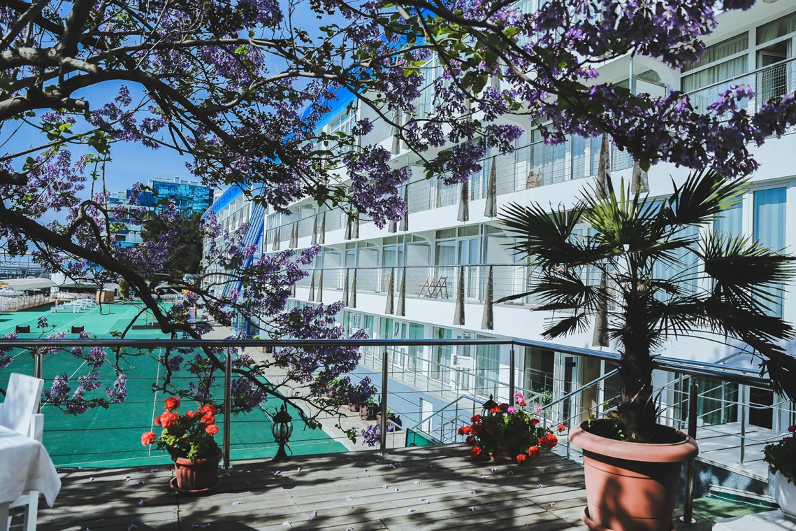 Отель Левант,Внешний вид корпуса