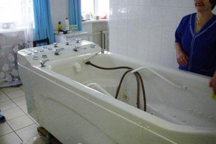 Санаторий Шинник,Ванное отделение