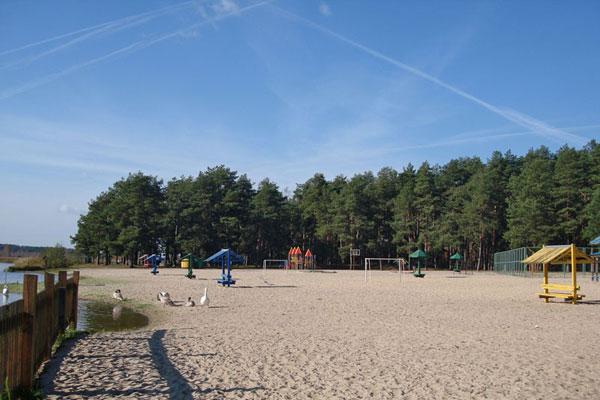 Санаторий Ружанский,Пляж