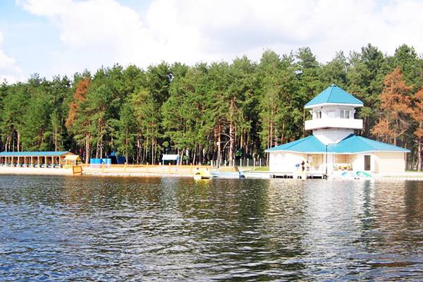 Санаторий Ружанский,Территория