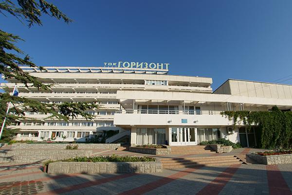 Туристско-оздоровительный комплекс Горизонт,Центральный вход