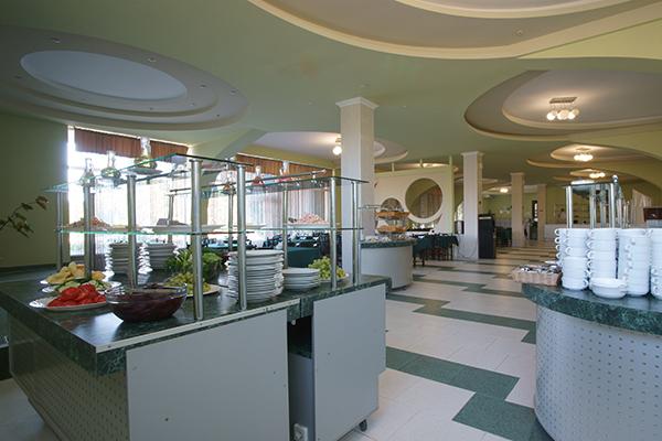 Туристско-оздоровительный комплекс Горизонт,Обеденный зал