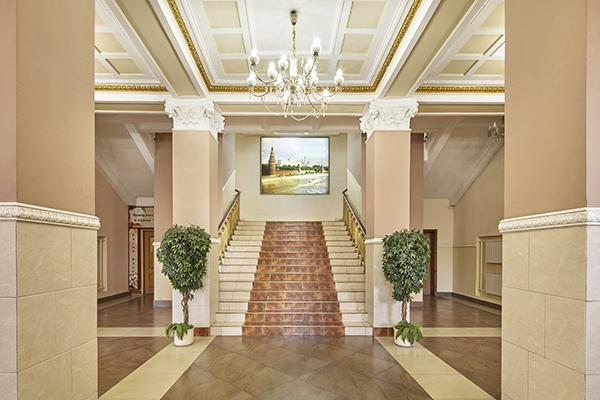 Гостиница Славянка,Холл