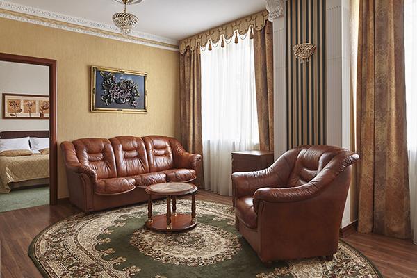 Гостиница Славянка,Апартамент 3-комнатный