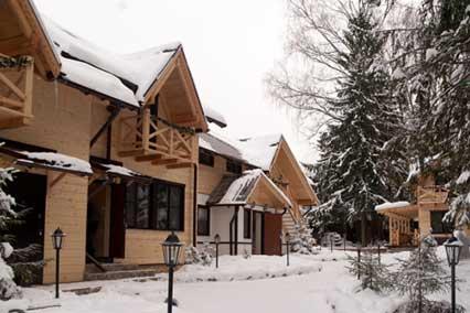 Дом отдыха Боярская усадьба,Внешний вид