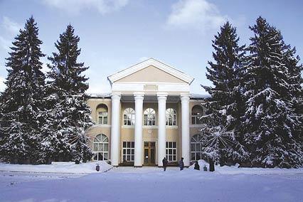 Санаторий Литвиново,Внешний вид (зимой)