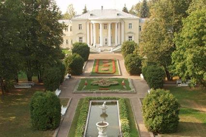 Санаторий Звенигород,Внешний вид