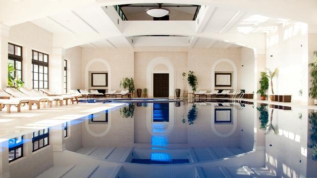 Клубный отель Крымский Бриз ,СПА. Крытый бассейн