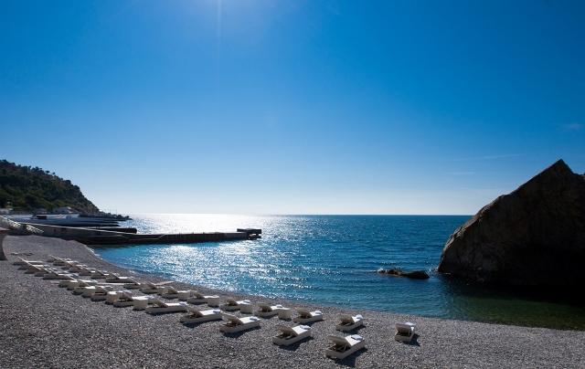 Клубный отель Крымский Бриз ,Пляж