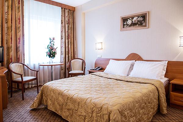 Гостиница Измайлово Бета,Люкс стандарт double