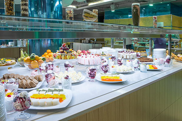 Шведский стол сладкое