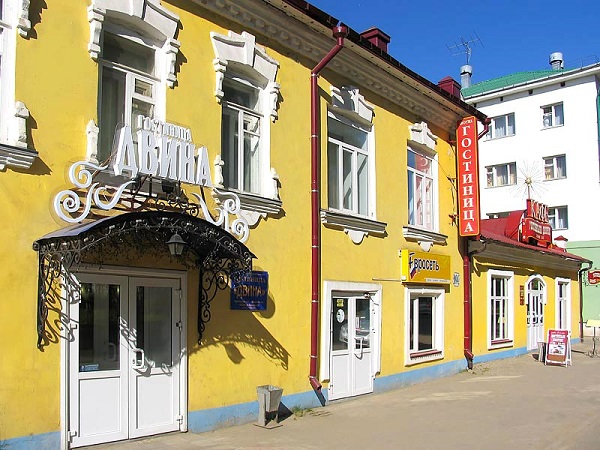Гостиница Двина,Общий вид