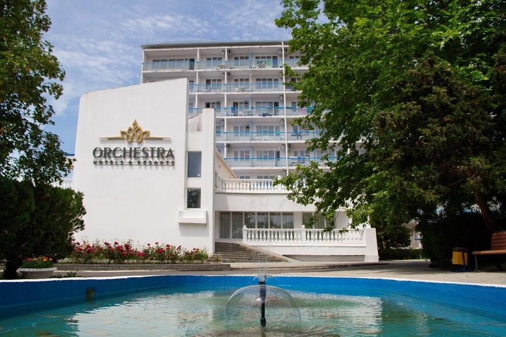 Отель Orchestra Horizont Gelendzhik Resort (Оркестра Горизонт (ех. Горизонт)) ,Внешний вид Главный корпус (корпус 1)