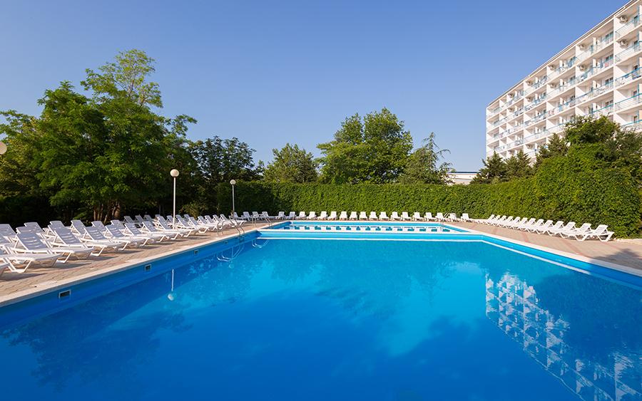 Отель Orchestra Horizont Gelendzhik Resort (Оркестра Горизонт (ех. Горизонт)) ,Бассейн