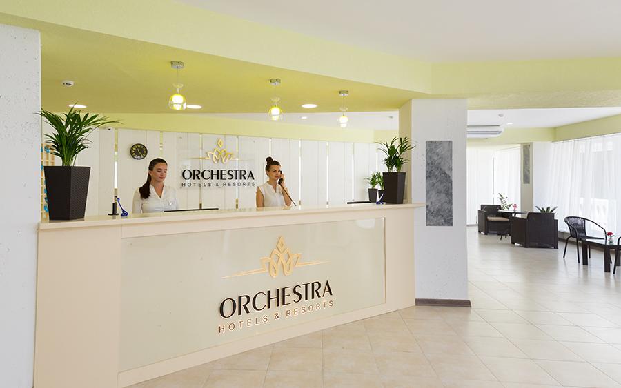 Отель Orchestra Horizont Gelendzhik Resort (Оркестра Горизонт (ех. Горизонт)) ,Ресепшн