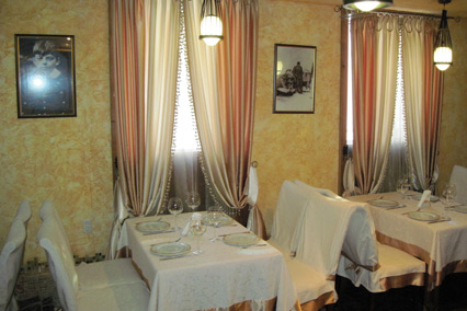 Отель Даккар,Ресторан