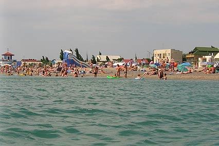 Гостиничный комплекс Изумруд,Пляж