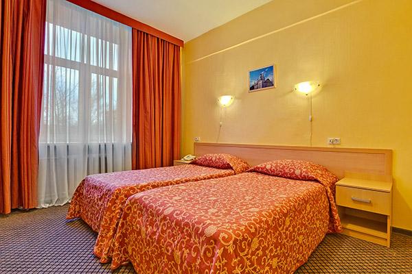 Гостиница Шерстон,Двухместный эконом с раздельными кроватями