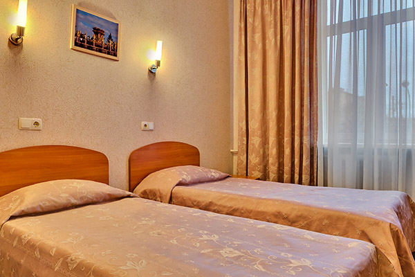 Гостиница Шерстон,Двухместный эконом с раздельными кроватями_2