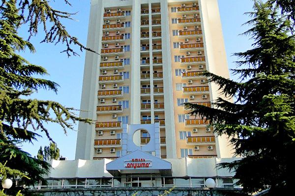 Гостиница Алушта (гостиница),Внешний вид