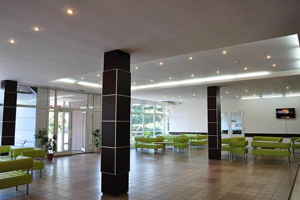 Гостиница Алушта (гостиница),Холл