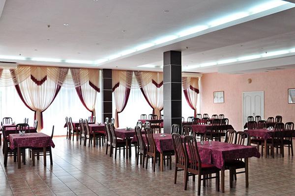 Гостиница Алушта (гостиница),Ресторан