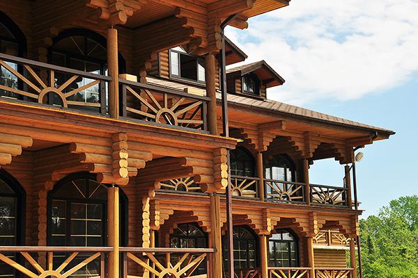 Пансионат Сосновая роща,3-этажный НОВЫЙ деревянный корпус (№3);