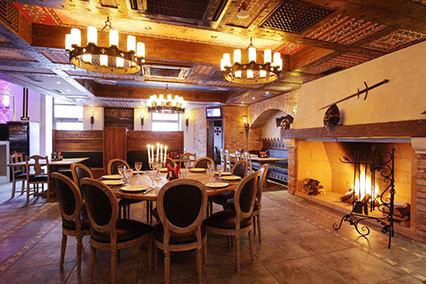 Гостиница Нессельбек,Ресторан гостиницы, интерьер