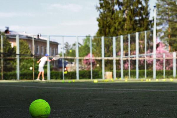 Санаторий Истра (РОП),Теннисный корт