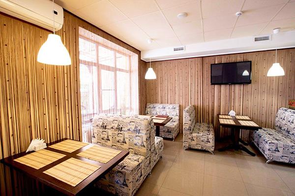 Отель Гранд Прибой (ex. Ателика Гранд Прибой) ,Кафе