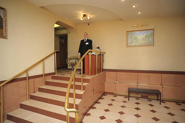 Гостиница Кузьминки,Ресепшн