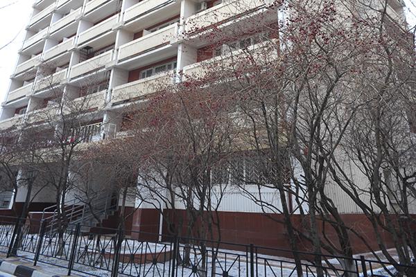 Гостиница Кузьминки,Фасад