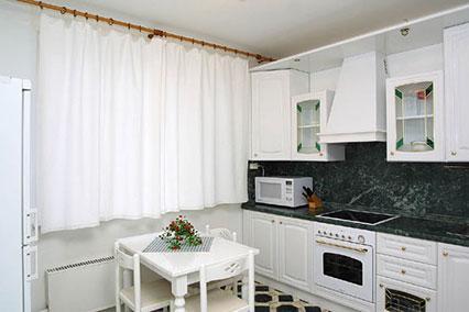 Гостиница Царицыно ,VIP апартаменты, 3-комнатный, кухня
