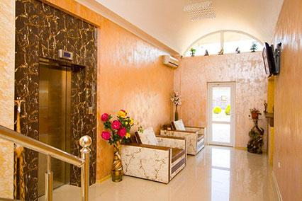Отель Евро Парк-отель,Ресепшн