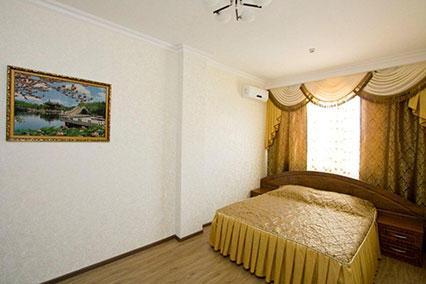 2-местный 2-комнатный Люкс-(спальня)