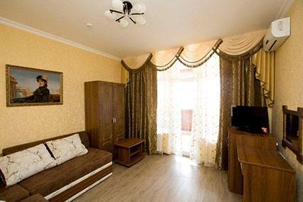 2-местный 2-комнатный Люкс (гостинная)