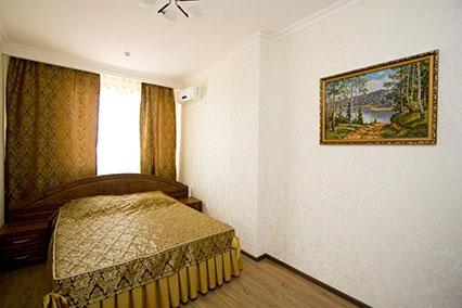 2-местный 2-комнатный Люкс (спальня)