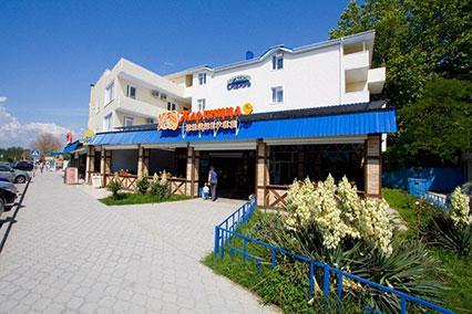 Гостиница Сибирь,Внешний вид