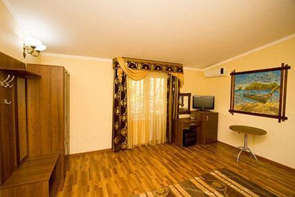 Гостиница Сибирь,2-местный Полулюкс