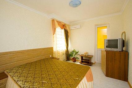 Гостиница Сибирь,2-местный стандартный