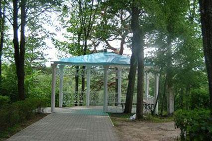 Санаторий Дорохово,Территория