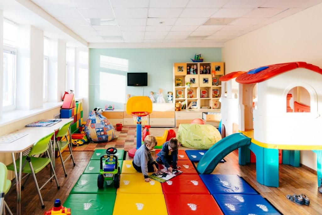 Санаторий Электра,Детская комната