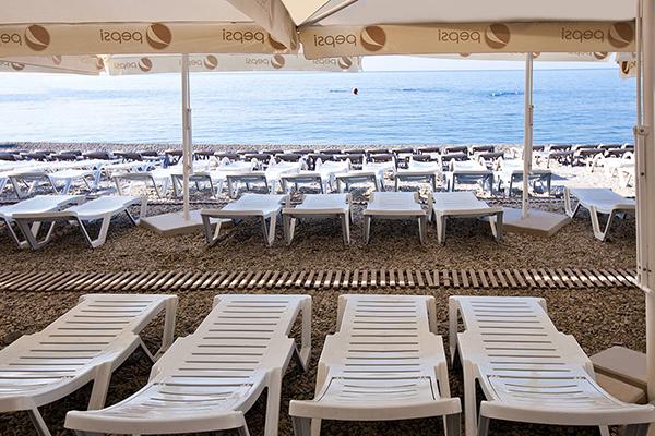 Отель Yalta-Intourist (Ялта-Интурист),Пляж