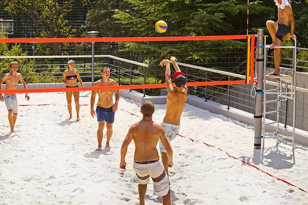 Поле для пляжного волейбола