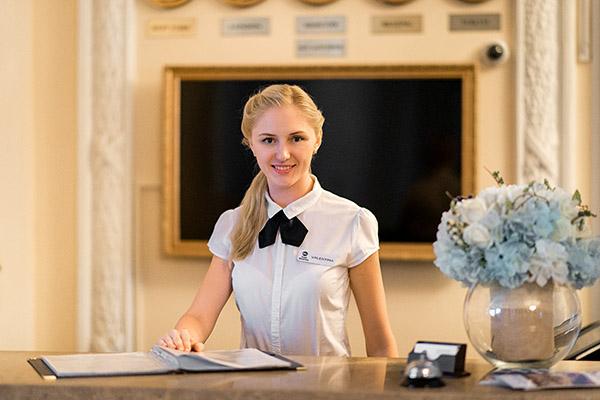 Отель Севастополь ,Ресепшн