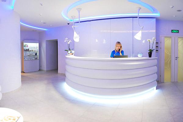 Отель Севастополь ,СПА-центр. Рецепшн