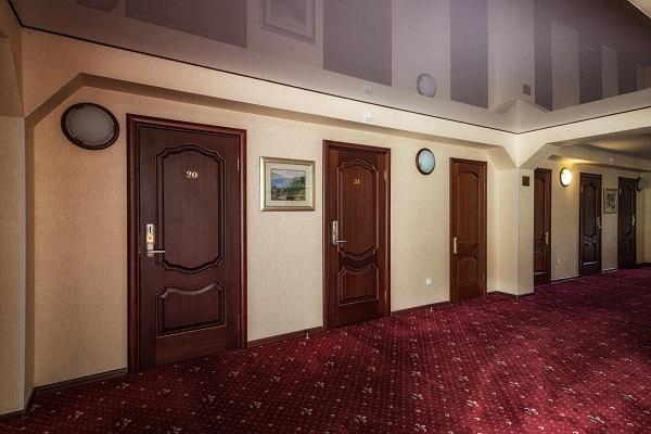 Гостиничный комплекс Ареда 2-3,Интерьеры в корпусе