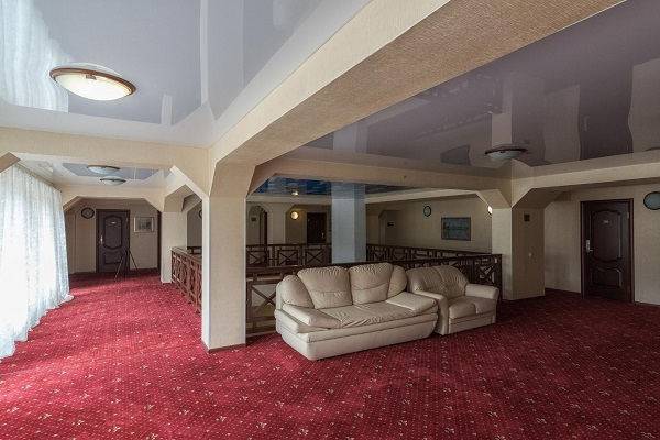 Гостиничный комплекс Ареда 2-3,Холл в корпусе